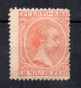 SPAIN - PUERTO-RICO - 2 - ALPHONSE XIII - Unused -