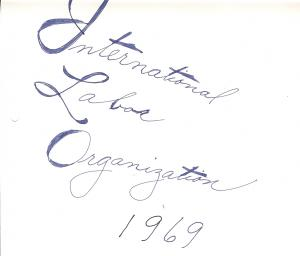 International Labor Organization Collection, VLH CV: $138.25