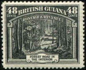 British Guiana SC# 217 Forest Road 48c MH