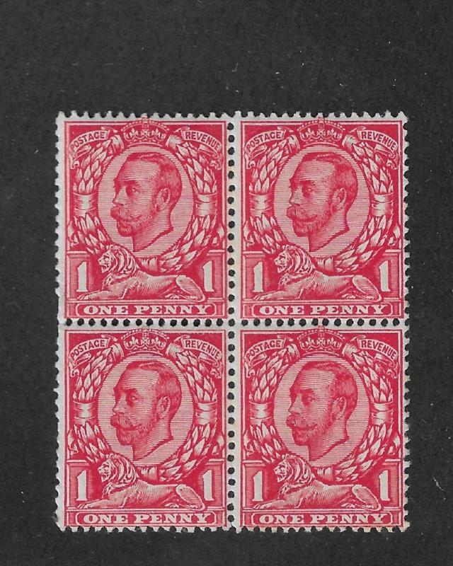 Great Britain Scott # 152 Block VF MNH**OG nice color !  see pic !
