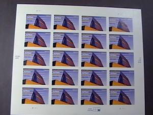 U.S.# 3838-MINT/NEVER HINGED---PANE OF 20---50 TH ANIV. USAF ACADEMY---2004