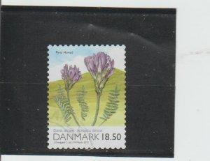 Denmark  Scott#  1457  Used  (2010 Purple Milkvetch)