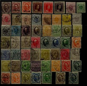 Luxembourg 55 used/mint values pre-1920,mixed condition