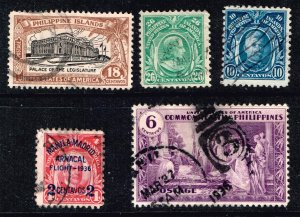 Philippines STAMP USED STAMPS COLLECTION LOT #3