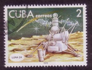 Cuba Sc. # 2184 CTO Space
