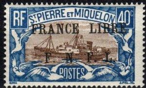 Saint Pierre And Miquelon  #209 MNH CV $17.50  (P682)