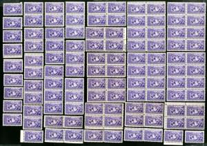 US Stamps # 855 VF Lot of 110 OG NH Catalog Value $192.00