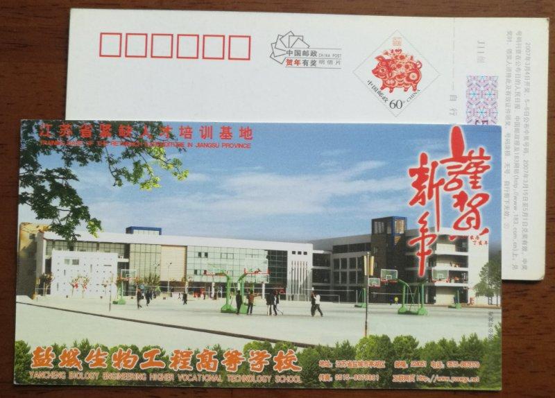 Basketball playground,volleyball court,CN 07 biology engineering school PSC