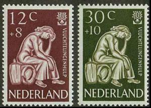 Netherlands B341-B342 Mint VF H