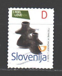 Slovenia. 2013. 991. Clay figures. USED.