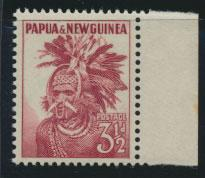 PNG - SG 6    Scott 127  Mint Never Hinged - SPECIAL