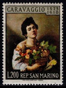 San Marino 1960 350th Death Anniversary of Caravaggio [Unused]