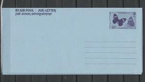 Belize, 1974 issue. Butterfly Postal Envelope.