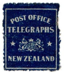 (I.B) New Zealand Telegraphs : Telegraph Despatch Seal