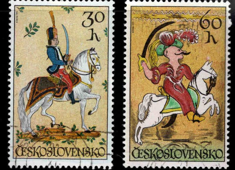 Czechoslovakia Scott 1837-1838 MNH** stamps