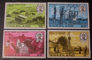 Swaziland Scott #298-301 mnh