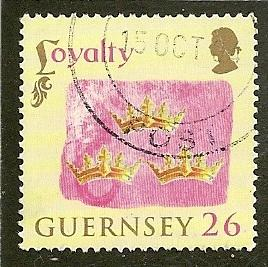Guernsey     Scott  838         Loyalty to Crown       Used