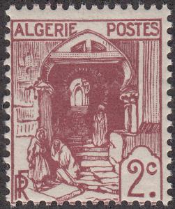 Algeria #34 Street in Kasbah, Algiers MNH