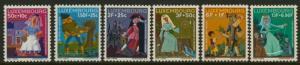 Luxembourg B252-7 MNH Fairy Tales, Art