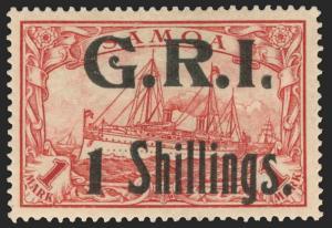Samoa Scott 110 Gibbons 110 Mint Stamp