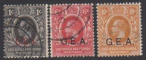 German East Africa N106//N109 Used Short Set CV $1.90