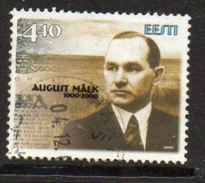 Estonia Sc 402 2000 August Malk stamp used