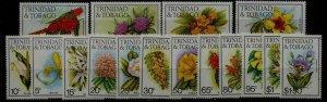 Trinidad Tobago 392-407 MNH Flowers SCV29.85