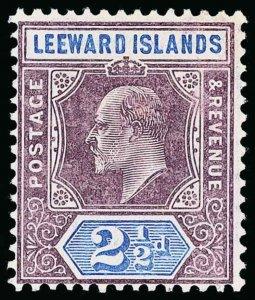Leeward Islands Scott 32 Gibbons 32 Never Hinged Stamp