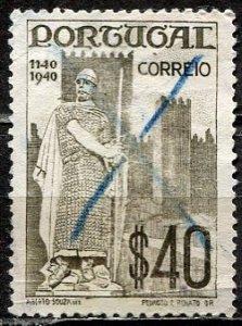 Portugal; 1940: Sc. # 591: O/Used Single Stamp