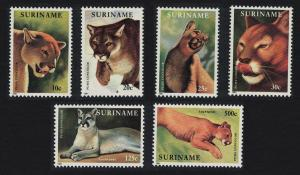 Suriname The Puma 6v SG#1484-1489