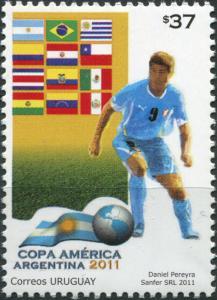 Uruguay. 2011. Copa America Argentina 2011 (MNH OG) Stamp