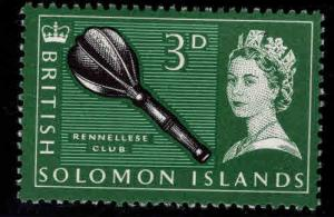 British Solomon Islands Scott 133 MH* stamp