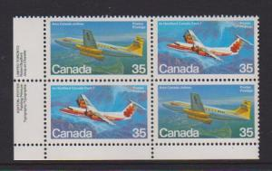 CANADA PLATE BLOCK MNH STAMPS #906a LOT#PB520