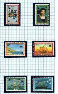 WORLD WIDE 1992 500th Anniversary Discovery AMERICA MNH  COLLECTION LOT #F15
