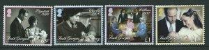 S.GEORGIA & S.SANDWICH IS. SG611/4 2014 ROYAL CHRISTENINGS MNH