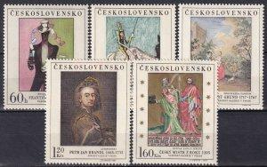 Czechoslovakia #1507-11 MNH CV $5.60 (Z5363)