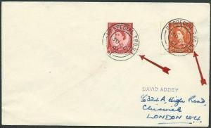 GB 1961 cover UP SPECIAL T.P.O. (L) cds....................................42897