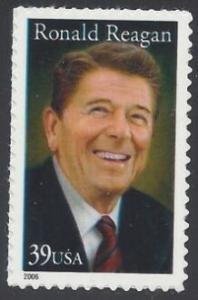 US Stamp #4078 MNH - Ronald Reagan Single
