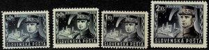 1939 Slovakia Scott Catalog Number 34-37 Unused Never Hinged