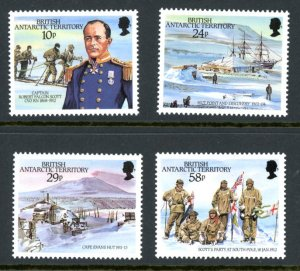 British Antarctic Territory 137-140 MNH mint Scott Expedition      (Inv 001060)