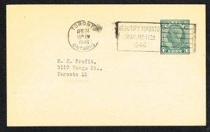 Canada Unitrade Postal Card UX66