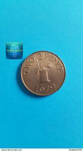 Guernsey 1979 2 Pence - Elizabeth II (Grade XF)