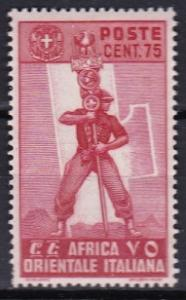 1938 Italian East Africa Scott 11 Fascist Legionary MLH