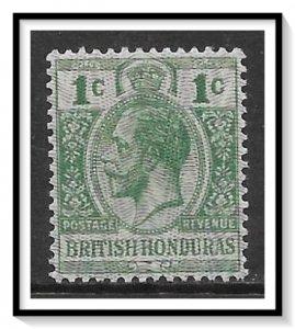 British Honduras #85 KG V MNH