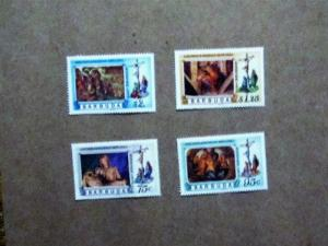 Barbuda - 328-31, MNH Set. Michelangelo Works. SCV - $1.00