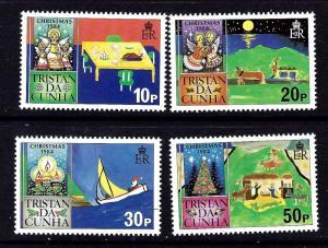 Tristan da Cunha 364-67 MNH 1984 Christmas