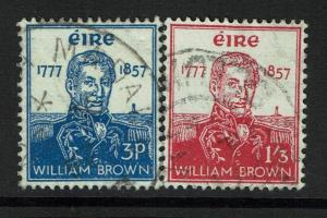 Ireland SC# 161 and 162, Used, 161 pencil writing on back - Lot 070217