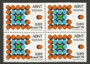 BRAZIL 1492 MNH BLOCK OF 4 [D1]