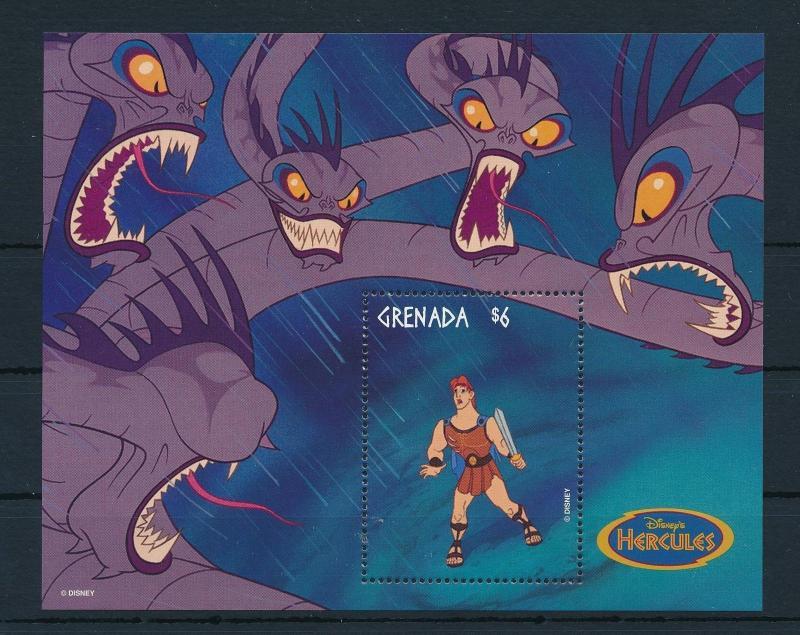 22568 Grenada 1998 Disney Movie Hercules Dragon Mnh Hipstamp