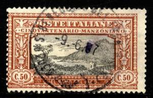 Italy Scott 168  Sass. 154 USED Very lovely $140.00